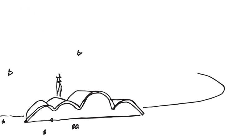 Obrigado Niemeyer, RIP  Pampulha drawing