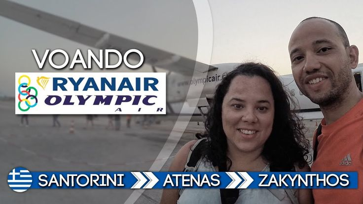 Grécia 17 - Voando Ryanair e Olimpic Air - De Santorini até Zakynthos