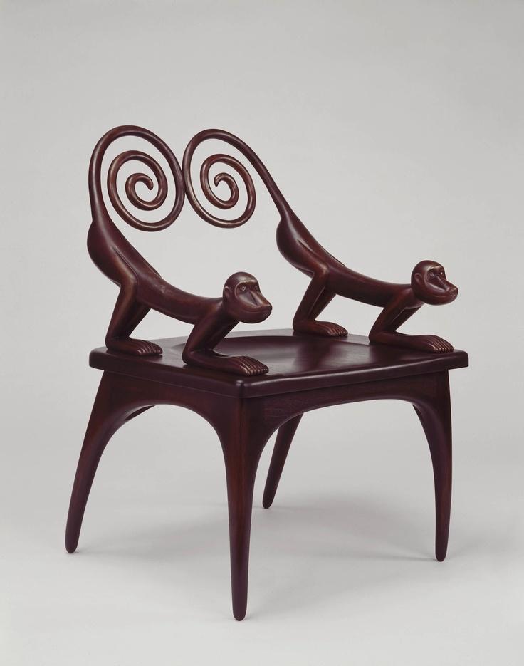 Elegant Monkey Chair 1994. Maker: Judy Kensley McKie
