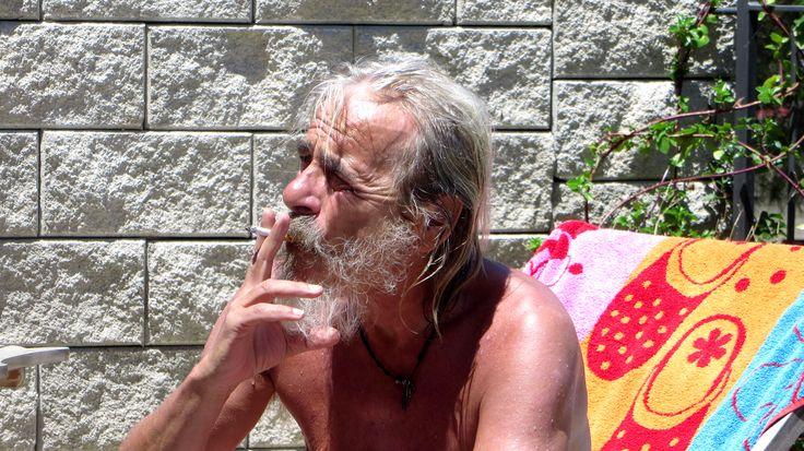 ...danach noch eine Zigarette geniessen