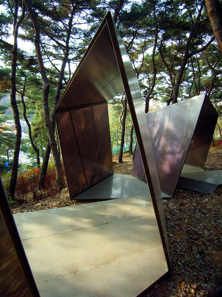 Paper Snake | kengo kuma and associates | sculpture as architecture