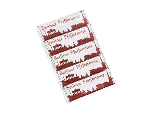 Berliner Pfefferminz – dragées à la menthe forte – lot de 5 paquets: Les Berliner Pfefferminz sont des dragées à la menthe extra forte avec…