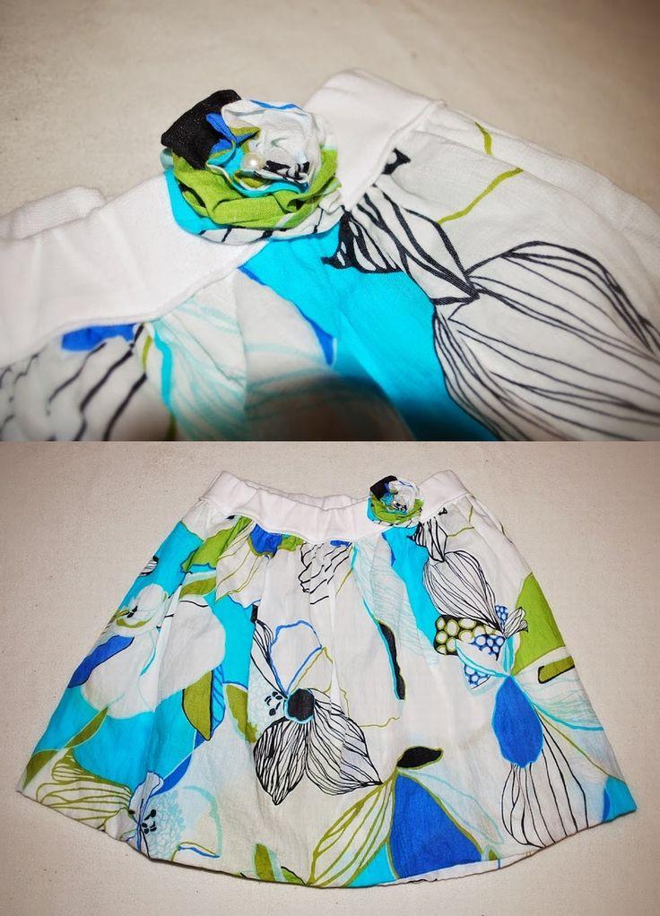 Balloon skirt..