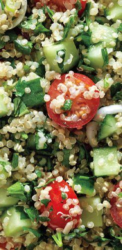 Quinoa Tabbouleh recipe: Veggie-packed deliciousness.
