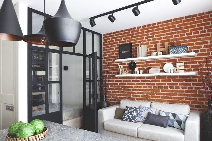 Как создать интерьер с обложки: кухня-гостиная в стиле лофт | Свежие идеи дизайна интерьеров, декора, архитектуры на INMYROOM