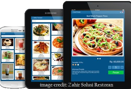 Software restoran terbaik nomor 1 Zahir