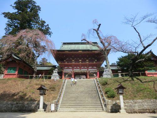 桜を求めて塩釜神社、志波彦神社、御釜神社へ行ってきた : 旅行記「俺たち旅に出る」