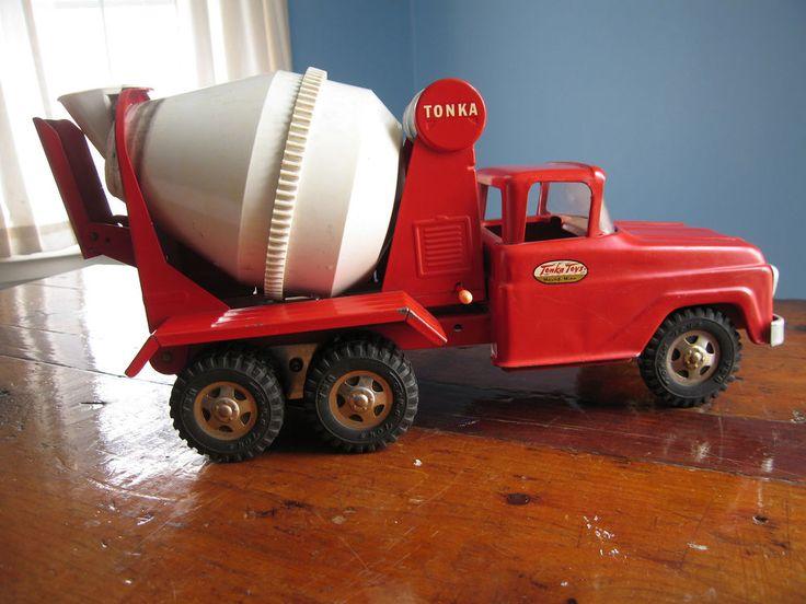 Vintage Toy Trucks Part - 25: Tonka Cement Truck Vintage #Tonka