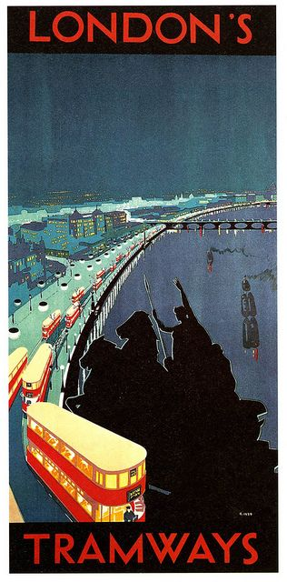 London Transport Poster, 1929. #london, #londonunderground, #londontube, #subway, #posters
