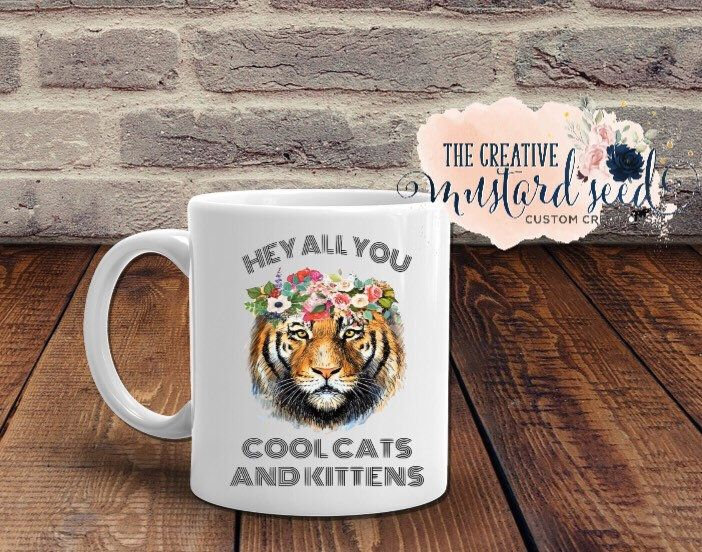 Hey All You Cool Cats And Kittens Svg Carole Baskin Joe Etsy In 2020 Cool Cats Cats And Kittens Cool Stuff