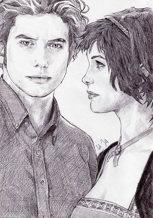 twilight saga drawing | jasper fan art on deviant art the artist name is merwild see all their ...
