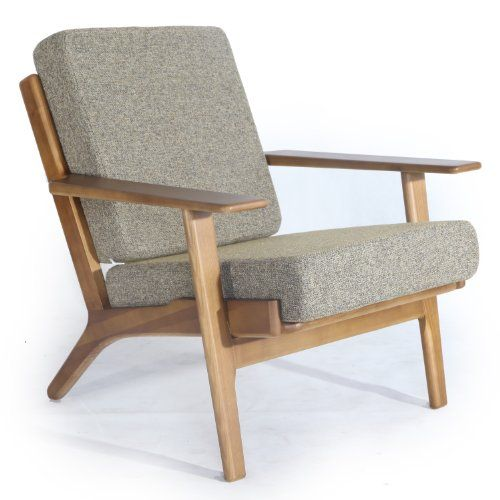 Awesome Midcentury Modern Hans Wegner Style Kardiel Hans J Wegner Style  Plank Armchair, Oatmeal. Wing ChairsLounge ...