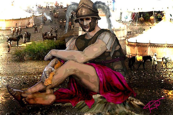 Alexander The Great. Filotas by PirraAiren.deviantart.com on @DeviantArt