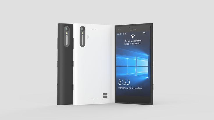 Microsoft Lumia 850 design concept.