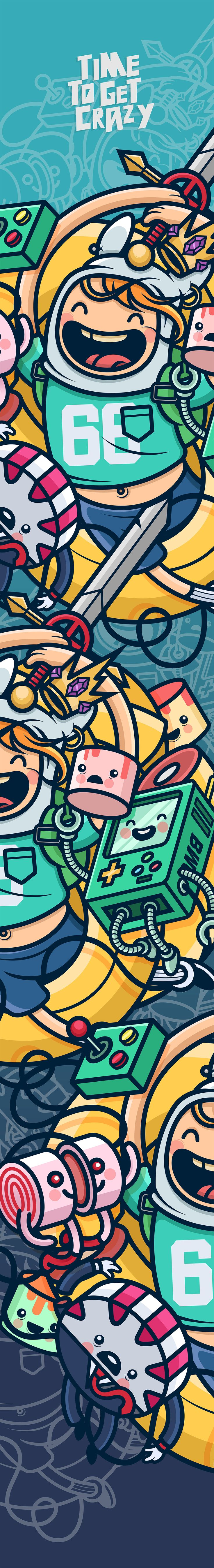 Time to get crazy - Adventure Time on Behance