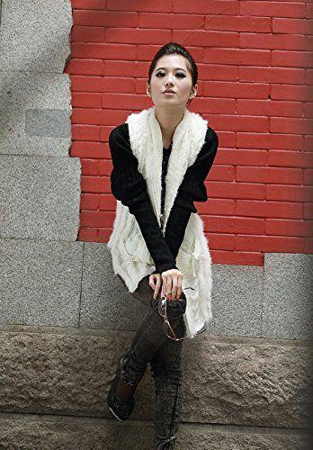 Furfox レディース ラビットファー ホワイト 毛皮 ロング丈 ニット ベスト チョッキ Furfox http://www.amazon.co.jp/dp/B00MJ1R9JI/ref=cm_sw_r_pi_dp_E-bgub1AXQPH0