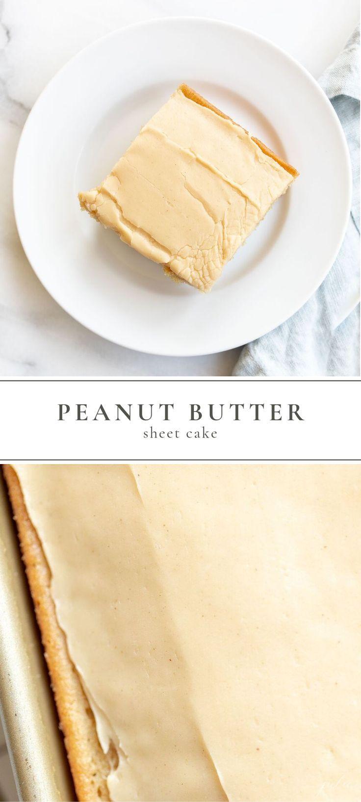 Es ist die beste Mischung aus süß und salzig … ein einfaches Rezept für Erdnussbuttertorte mit …   – Sweet Recipes | Julie Blanner