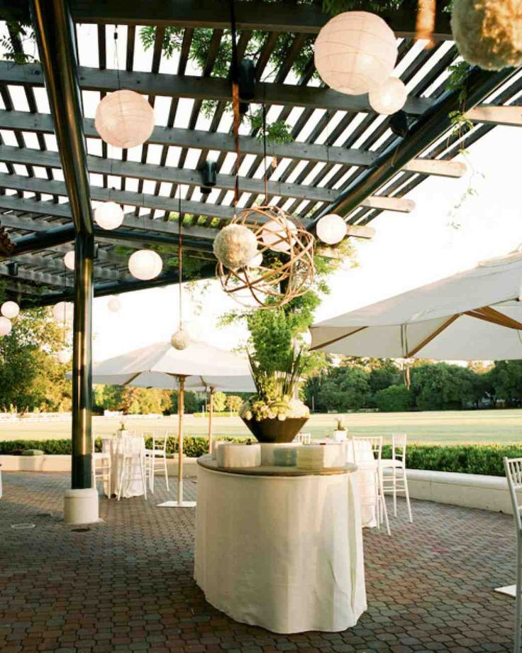10 best images about wedding reception on pinterest for Outdoor cocktail party decorating ideas
