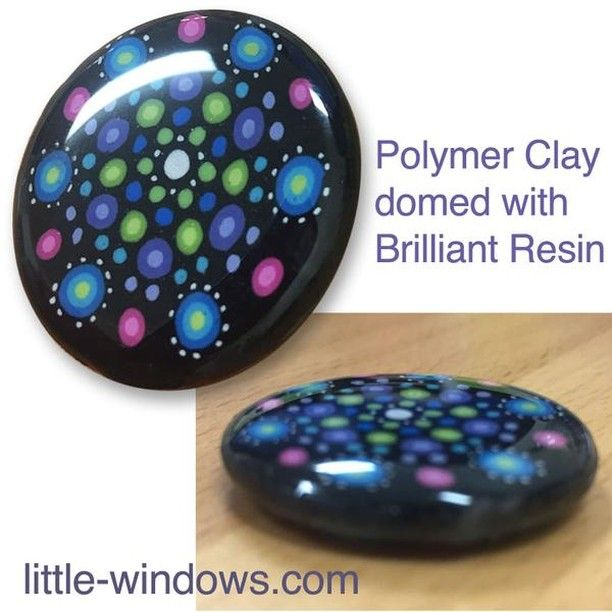 Little Windows Brilliant Resin Silicone Cabochons Mold for Resin or Polyclay