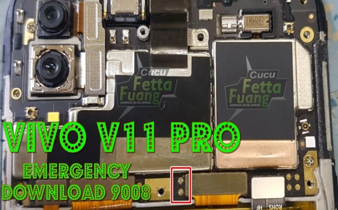 Vivo V11 Pro Test Point | Boot Vivo V11 Pro Into EDL (9008