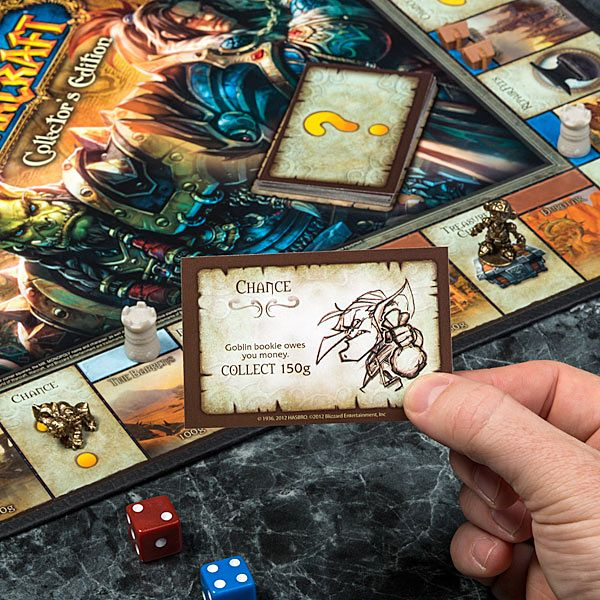 Monopoly: World of Warcraft Collector's Edition: Go and Collect 200 Copper
