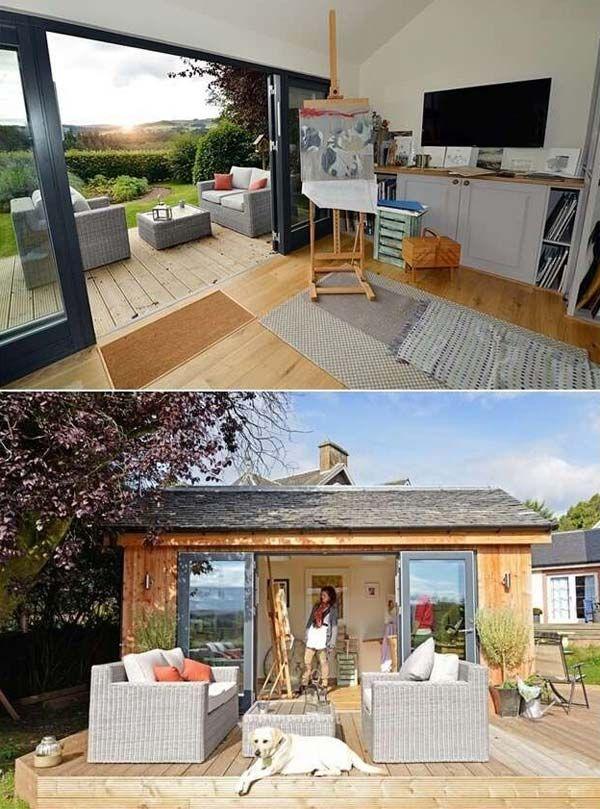 best 25+ backyard office ideas on pinterest | outdoor office