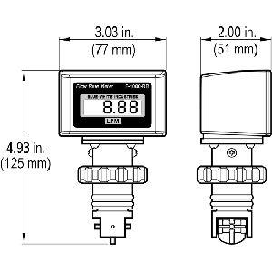 Paddlewheel Flow Meters
