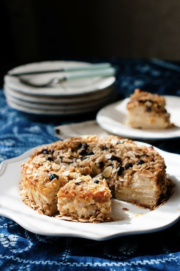 Almond Pear-Blueberry Cake   31 Fantastic Passover Desserts