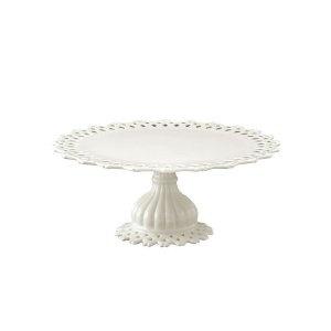 Pierced Porcelain Cake Stand