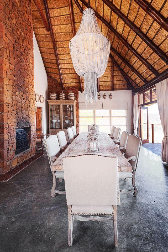 Dinning Room at Esiweni