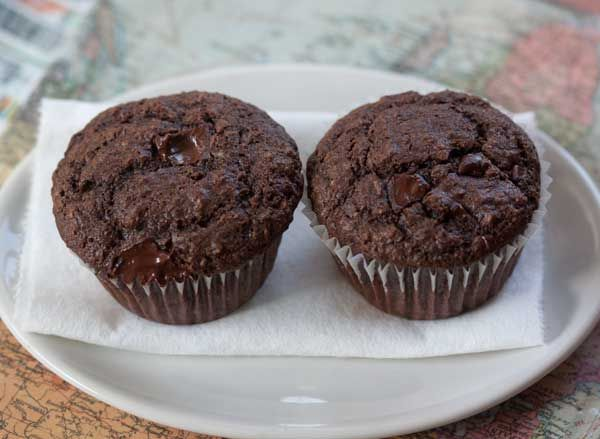 Here's another bran muffin which despite being chocolaty and rich tasting, is lower in fat than the previous bran muffin. This time, fiber comes from Fiber One cereal (or All Bran).The original Chocolate Fiber Muffin recipe is on the Fiber One web site, but I made a few changes and typed up my version below.This...Read More »