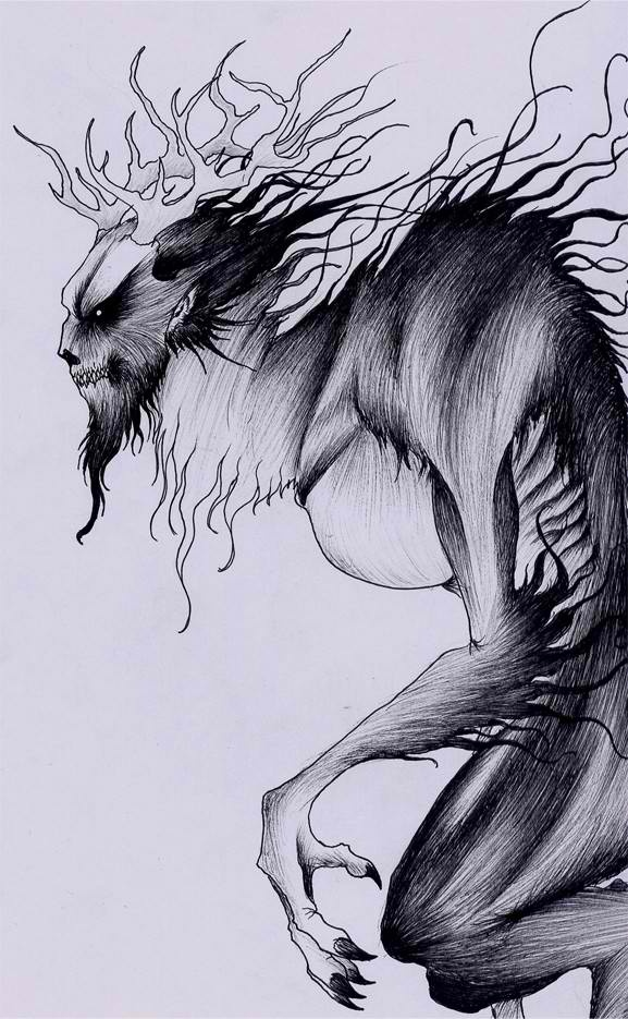Windigo is a malevolent, cannibalistic, supernatural beings (manitous) of great spiritual power.[5] They were strongly associated with the Winter, the North, and coldness, as well as with famine and starvation. Legends in the Algonquin speaking tribes of the North.