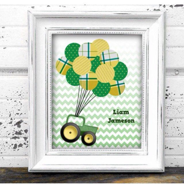 Any Little John Deere Fans Out There? Check Out My New Printable Tractor  Guest Book. Themed Baby ShowersBaby ...