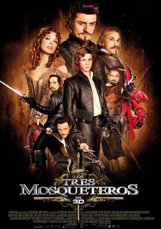 "Los tres mosqueteros (2011) ""The Three Musketeers"" de Paul W.S. Anderson - tt1509767"