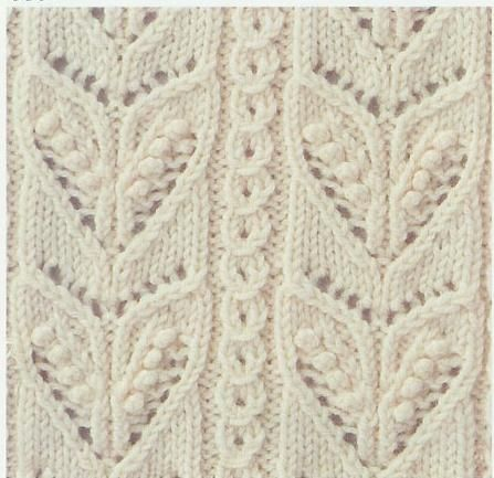 Lace Knitting Stitch #49. More stitch patterns on this page, someday I will be able to follow lace charts.