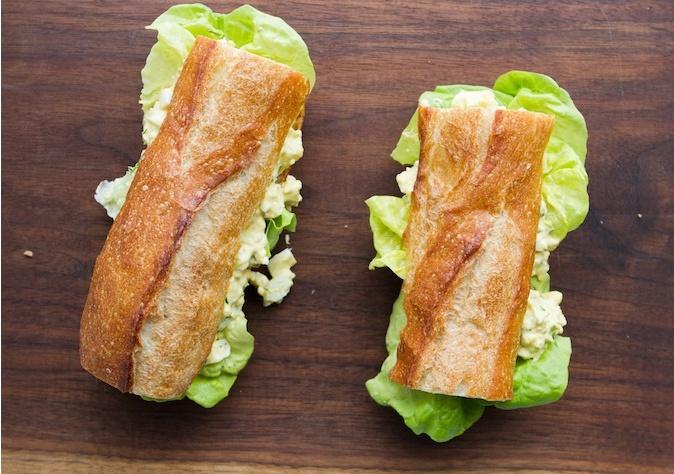 Egg Salad Sandwich | Sandwiches etc... | Pinterest
