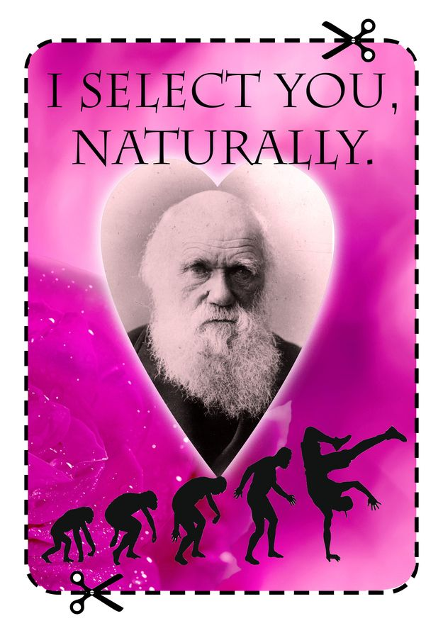 12 Valentineu0027s Cards For The Science Nerd In Your Life