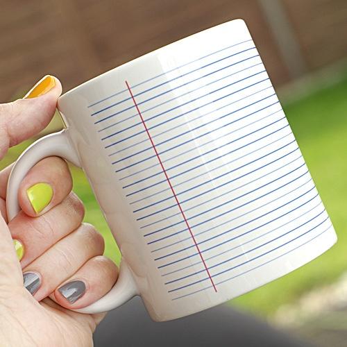 Make notes on a mug