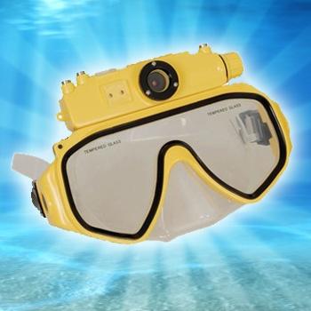 2GB Digital Camera Diving Mask