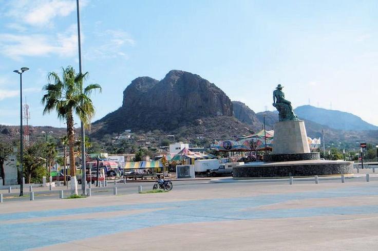 Plaza del Pescador / Fisherman Square at Guaymas and San Carlos Area
