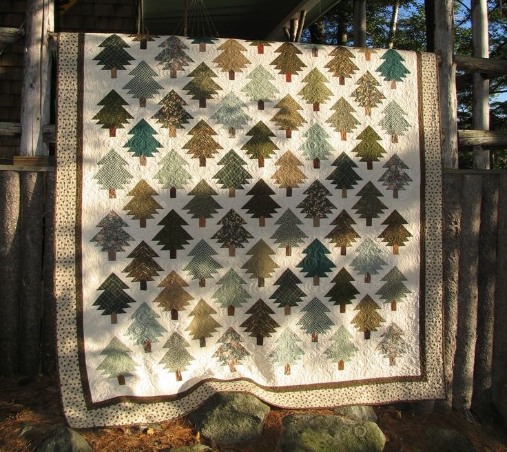 83 Best Images About Quilts Pine Trees On Pinterest