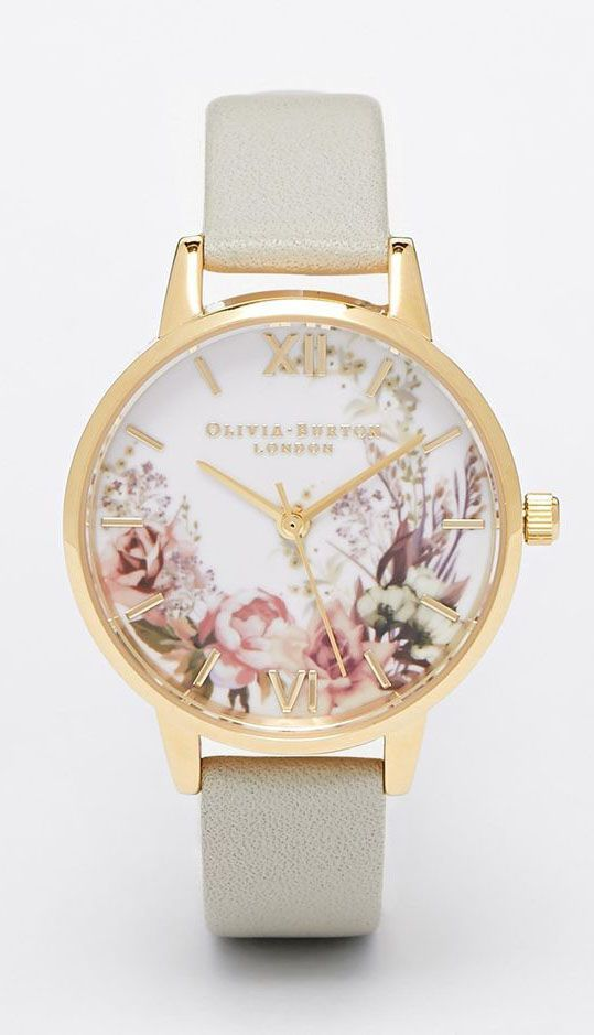 Flower Show Midi Dial Watch