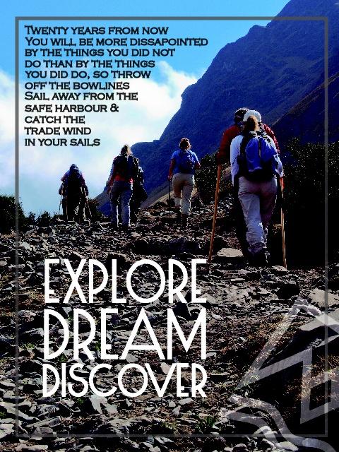 Explore, Dream, Discover - #Travelling #Quote