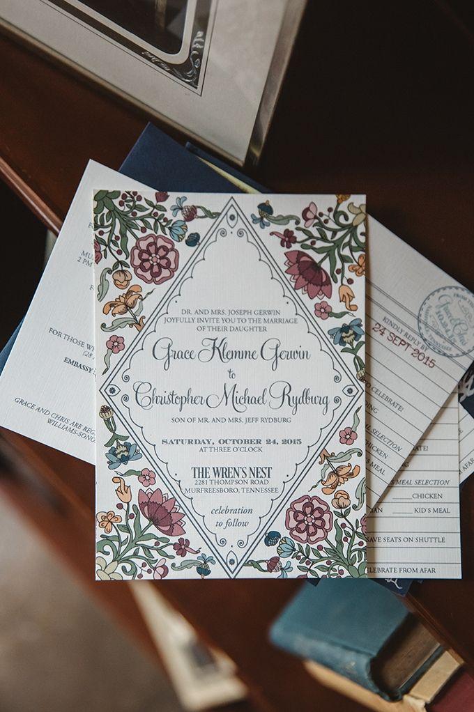 addressing wedding invitations married woman doctor%0A Vintage Fall Barn Wedding Invites