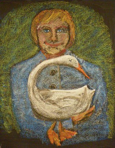 Waldorf ~ 1st grade ~ Letter: G ~ Goose