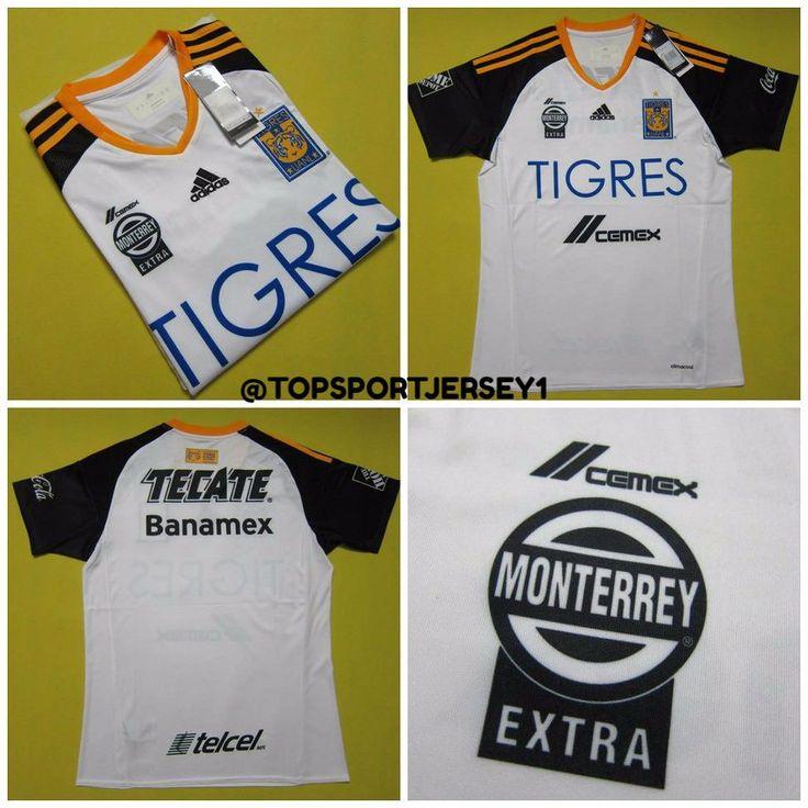 Tigres 2016-17 Home e35 #tigres #mexico #football