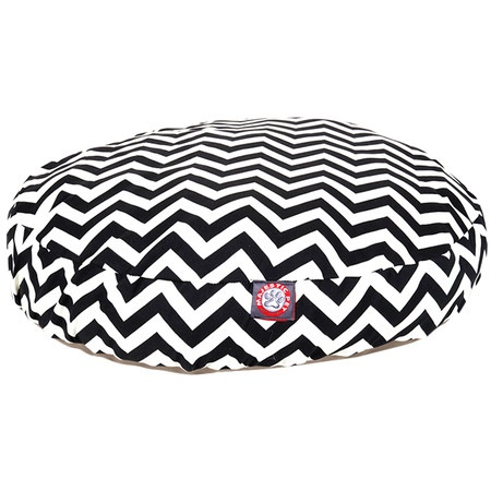 Chevron dog bed! Love it :)