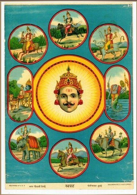 Navagraha - the nine metals in Hindu astrology - Navagraha - Wikipedia, the free encyclopedia