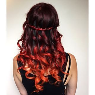 Beautiful Sunset hairstyles!