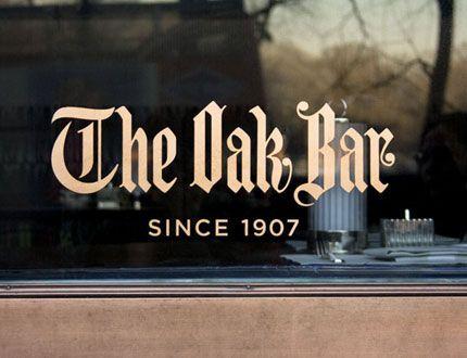 The Oak Bar logo